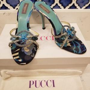 Emilio Pucci stilettos